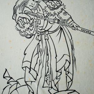 弘前ねぷた絵261 日本武尊