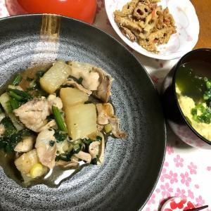 夕飯は簡単オリジナル料理❣️
