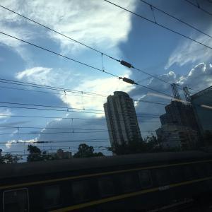 深セン・広州間の電車に8時間閉じ込められた日
