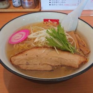 【らーめん吟屋】手稲では珍しい「とび魚のあごだし」&ライスやミニチャーシュー丼のお得なセットで一人ラーメン