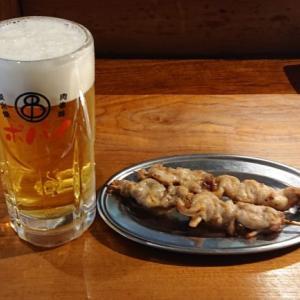 【マルハチポパイ】焼鳥がデカくて美味い!ドリンク2杯+串3本+おつまみ1品の昼飲みセットで一人飲み