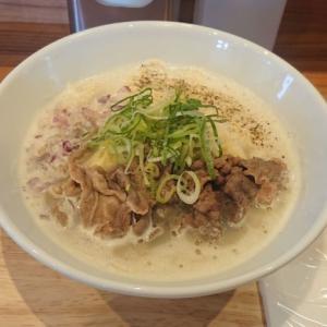 【麺屋 牛と貝】新川に焼肉「にく式」系列店がOPEN!牛骨&貝出汁のクリーミー白湯ラーメン