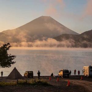 「浩庵キャンプ場」でキャンプしてきた話。秋晴れの本栖湖と富士山を堪能してきた