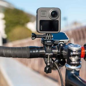 GoPro純正「ハンドルバー・シートポスト・ステム」マウントレビュー。安心の固定力で、疾走感ある車載動画を。