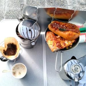 新年お外カフェ