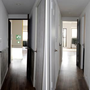 和室とリビングの仕切り壁がなくなると、光と開放感に溢れる☆