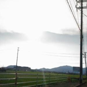 青空と流れる雲。。