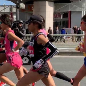 大阪国際女子マラソン。