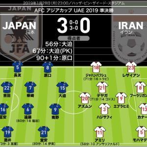 ザック vs ジャパンならず。