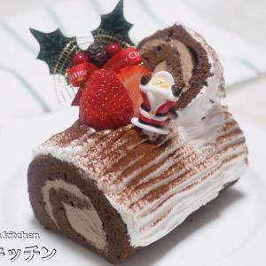 【クリスマス】材料4つ!市販のロールケーキを使った超簡単な『ブッシュドノエル』の作り方