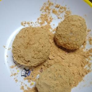 手作りきびだんご(アレルゲン27品目中:大豆)
