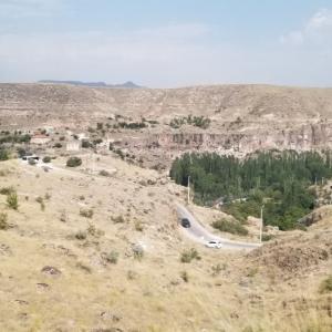 カッパドキアツアー2日目⑤ウフルル渓谷からギョレメへ