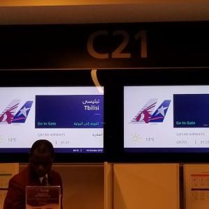 カタール航空での嬉しいハプニング②