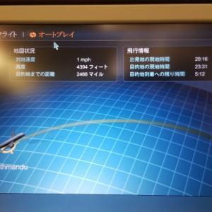 カトマンズから仁川経由で福岡へ戻ってきたよ(^_-)-☆