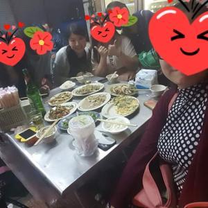 2016/4/30, 教会に行って、台湾屋台で夕食その2‼