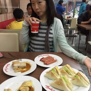 2016/5/1, 台湾の朝食を食べて、地元の市場へ‼