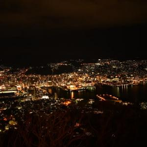 2021/1/1⑦(2日目)、長崎・新日本三大夜景、岩佐山へ!