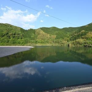 2021/5/1⑤(1日目)、高知市内のJRクレメントイン高知へ!その途中にもう一つ沈下橋!