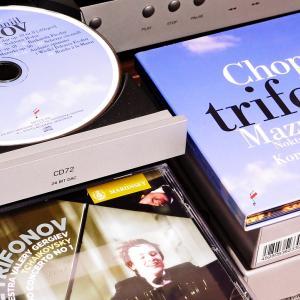 一流への階段を駆け上がるダニール・トリフォノフのSACDを聴きながら・・・
