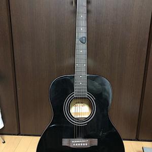 キャンプでギター?