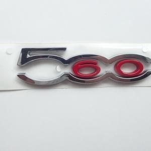 FIAT/フィアット500 FIAT500 60周年記念車専用 ピラーエンブレム 日本未発売レア商品です