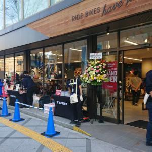 トレックバイシクル大阪梅田店がオープン。
