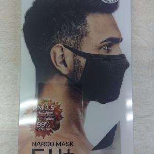 マスクがない、、、に NAROO MASK F.U+!