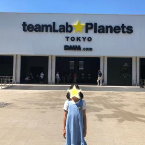 【プライベート】チームラボの世界を体験