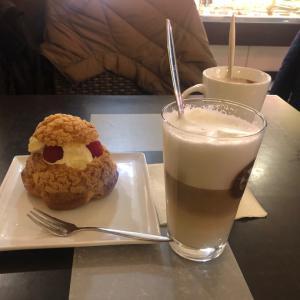 #フランス #アルザス #カフェ巡り 大好きな #シュークリーム を食べに @lapart...