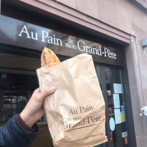フランスアルザス 質素な生活の中の小さな幸せ【フランスパン】