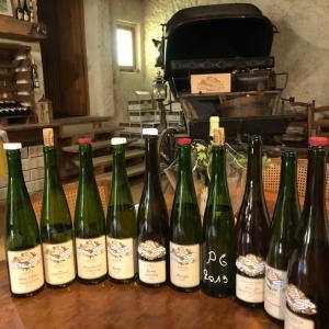 アルザスワイン 次に日本へお届けするワインたちを選別中 Schoech