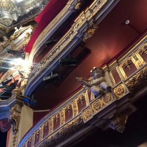 フランス ロックダウン中…温和後のオペラ座の舞台に立つ