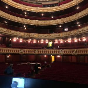 こんなご時世でフランスオペラ劇場の舞台に立つ