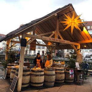 ストラスブールクリスマスマーケットで見つかる美味しいアルザスワイン