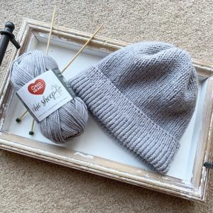 ニット帽手編み中の思わぬトラブル
