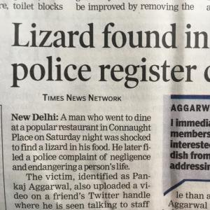 大好きな南インド料理店で残念なニュース