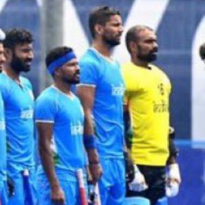 誇らしきインドホッケーチーム