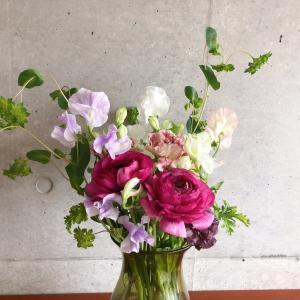 花はハッピーのバロメーター