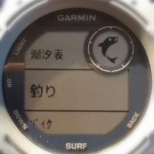 友釣りに最適なスマートウォッチ 釣りモード搭載!