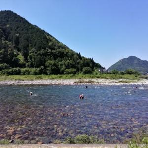 祝 長良川中央解禁釣行 天気はいいが