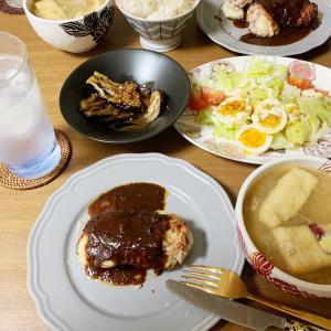おうちごはん10/14 マッシュポテトの肉巻き