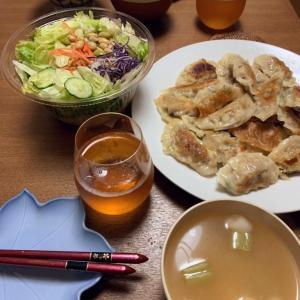 おうちごはん1/25 餃子