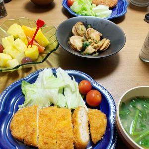 おうちごはん2/26 惣菜とほたてバター