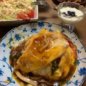 おうちごはん7/25 天津飯