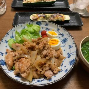 おうちごはん9/10 生姜焼き