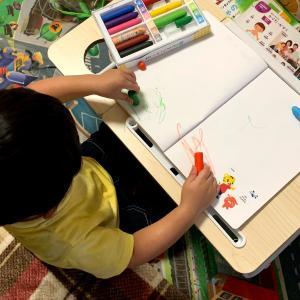 【1歳9ヶ月】お絵かきが上手になったよ!