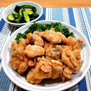 鶏手羽トロ肉のガーリックソルト唐揚げ