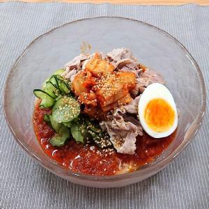 ぴょんぴょん舎のピビン冷麺