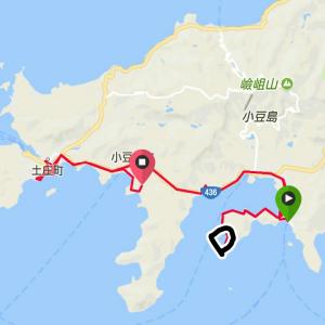 バイクパッキングで小豆島まで(後編)