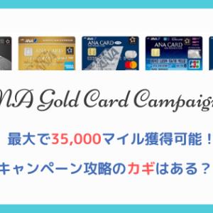 【2020年最新】ANAゴールドカードキャンペーンを詳細解説 ゴールド以外も対象!CP攻略のカギは?!